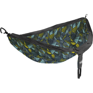 Eagles Nest Outfitters DoubleNest Print Hammock-DP283_Tribal/Charcoal