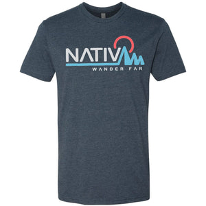 Elevation Short Sleeve Tee-Nativ-Midnight Navy-L-Uncle Dan's, Rock/Creek, and Gearhead Outfitters