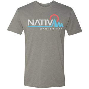 Elevation Short Sleeve Tee-Nativ-Stone Grey-L-Uncle Dan's, Rock/Creek, and Gearhead Outfitters