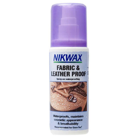 Fabric & Leather Proof Spray-On Shoe and Boot Waterproofing 4.2oz-NikWax-Uncle Dan's, Rock/Creek, and Gearhead Outfitters