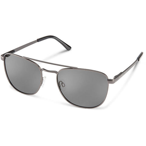 Fairlane Sunglasses-Suncloud-Matte Gun Metal/Polarized Grey-Uncle Dan's, Rock/Creek, and Gearhead Outfitters