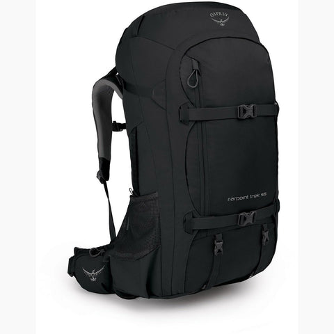 Farpoint Trek Travel Pack 55-Osprey-Black-Uncle Dan's, Rock/Creek, and Gearhead Outfitters
