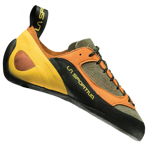 Finale Climbing Shoe-La Sportiva-Brown/Orange-39-Uncle Dan's, Rock/Creek, and Gearhead Outfitters