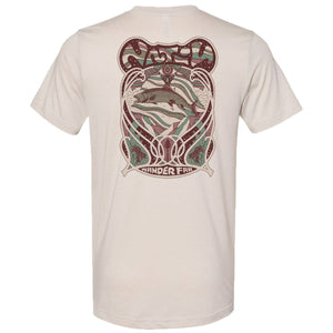Flyphish Short Sleeve Tee-Nativ-Heather Dust-L-Uncle Dan's, Rock/Creek, and Gearhead Outfitters