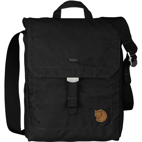 Foldsack No. 3 Shoulder Bag-Fjallraven-Black-Uncle Dan's, Rock/Creek, and Gearhead Outfitters