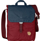 Foldsack No. 3 Shoulder Bag-Fjallraven-Ox Red/Navy-Uncle Dan's, Rock/Creek, and Gearhead Outfitters