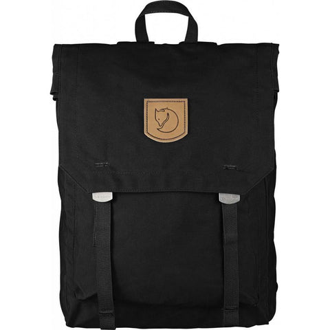 Foldsack No.1 Pack-Fjallraven-Black-Uncle Dan's, Rock/Creek, and Gearhead Outfitters