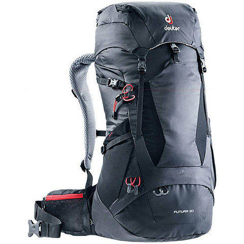Futura 30 Backpack-Deuter-Black-Uncle Dan's, Rock/Creek, and Gearhead Outfitters