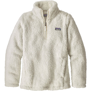 Girls Los Gatos Fleece 1/4 Zip-Patagonia-Birch White-L-Uncle Dan's, Rock/Creek, and Gearhead Outfitters
