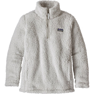 Girls Los Gatos Fleece 1/4 Zip-Patagonia-Tailored Grey-L-Uncle Dan's, Rock/Creek, and Gearhead Outfitters