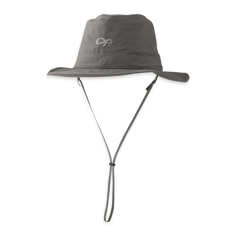 Ghost Rain Hat-Outdoor Research-Charcoal-M-Uncle Dan's, Rock/Creek, and Gearhead Outfitters