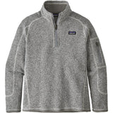 Girls Better Sweater 1/4 Zip-Patagonia-Birch White-L-Uncle Dan's, Rock/Creek, and Gearhead Outfitters