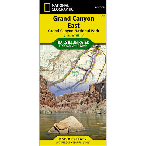 Grand Canyon East [Grand Canyon National Park] Map-National Geographic Maps-Uncle Dan's, Rock/Creek, and Gearhead Outfitters