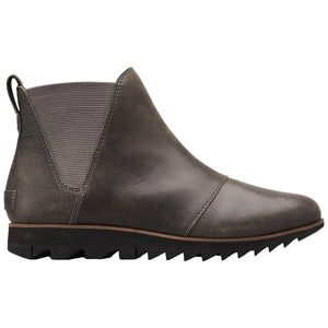 Women's Harlow Chelsea Boot - Clearance-Sorel-ALWAYS Quarry-6-Uncle Dan's, Rock/Creek, and Gearhead Outfitters