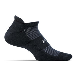 High Performance Cushion No Show Tab Socks-Feetures!-Black-XL-Uncle Dan's, Rock/Creek, and Gearhead Outfitters