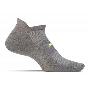 High Performance Cushion No Show Tab Socks-Feetures!-Heather Gray-XL-Uncle Dan's, Rock/Creek, and Gearhead Outfitters