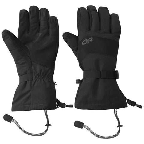 Highcamp Gloves-Outdoor Research-Black-S-Uncle Dan's, Rock/Creek, and Gearhead Outfitters