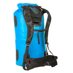 Hydraulic Dry Pack 90L-Sea to Summit-Blue-Uncle Dan's, Rock/Creek, and Gearhead Outfitters