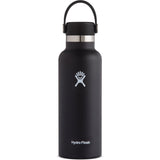 Hydro Flask 18 oz Standard Mouth Water Bottle-S18SX001_Black