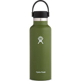 Hydro Flask 18 oz Standard Mouth Water Bottle-S18SX306_Olive