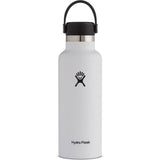 Hydro Flask 18 oz Standard Mouth Water Bottle-S18SX110_White