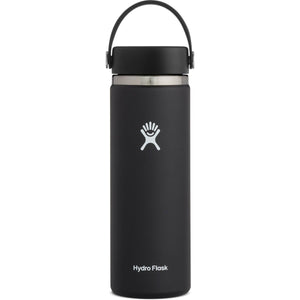 Hydro Flask 20 oz Wide Mouth Water Bottle-W20BTS001_Black