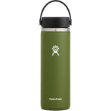 Hydro Flask 20 oz Wide Mouth Water Bottle-W20BTS306_Olive