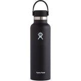 Hydro Flask 21 oz Standard Mouth Water Bottle-S21SX001_Black