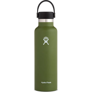 Hydro Flask 21 oz Standard Mouth Water Bottle-S21SX306_Olive