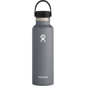 Hydro Flask 21 oz Standard Mouth Water Bottle-S21SX010_Stone