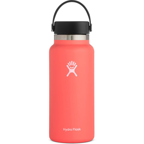 Hydro Flask 32 oz Wide Mouth Water Bottle-W32BTS650_Hibiscus
