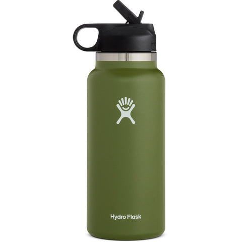 32-oz-wide-mouth-water-bottle-with-straw-lid-w32bsw_Olive