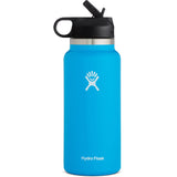 Hydro Flask 32 oz Wide Mouth Water Bottle with Straw Lid-W32BSW415_Pacific