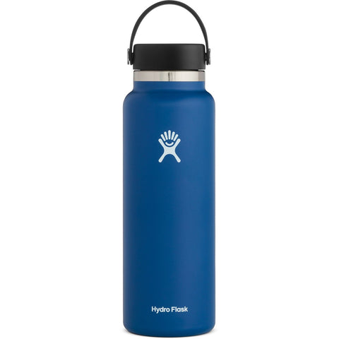 Hydro Flask 40 oz Wide Mouth Water Bottle-W40BTS001_Black