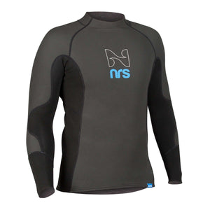 Men's HydroSkin Long Sleeve Shirt-Northwest River Supplies-Black-S-Uncle Dan's, Rock/Creek, and Gearhead Outfitters