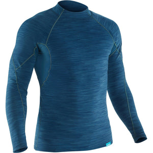 Men's HydroSkin Long Sleeve Top-Northwest River Supplies-Moroccan Blue-L-Uncle Dan's, Rock/Creek, and Gearhead Outfitters