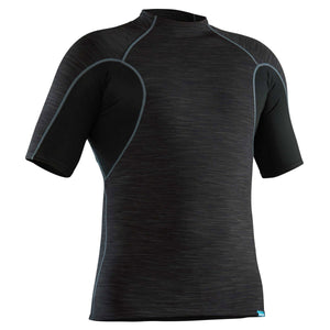 Men's HydroSkin Short Sleeve Top-Northwest River Supplies-Black-S-Uncle Dan's, Rock/Creek, and Gearhead Outfitters