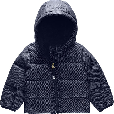 Infant Moondoggy 2.0 Down Jacket - Clearance-The North Face-Montague Blue Denim Print-0-3M-Uncle Dan's, Rock/Creek, and Gearhead Outfitters