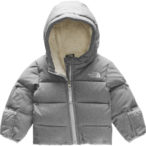Infant Moondoggy 2.0 Down Jacket - Clearance-The North Face-TNF Medium Grey Heather-0-3M-Uncle Dan's, Rock/Creek, and Gearhead Outfitters