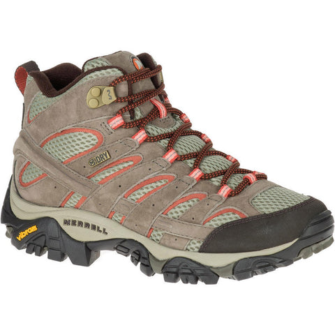 Women's Moab 2 Mid Waterproof-Merrell-Granite-10-Uncle Dan's, Rock/Creek, and Gearhead Outfitters