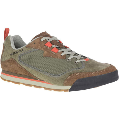 Men's Burnt Rock Travel Suede-Merrell-Dusty Olive-9-Uncle Dan's, Rock/Creek, and Gearhead Outfitters