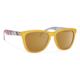 Jan-Forecast Optics-Matte Yellow with Gold Lens-Uncle Dan's, Rock/Creek, and Gearhead Outfitters