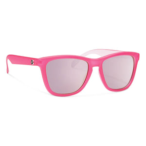 Jan-Forecast Optics-Matte Pink with Pink Mirror Lens-Uncle Dan's, Rock/Creek, and Gearhead Outfitters