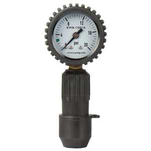 K Pump Kwik Check Pressure Guage-Northwest River Supplies-Uncle Dan's, Rock/Creek, and Gearhead Outfitters