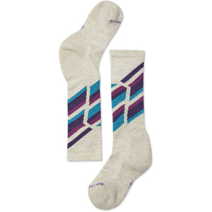 Kids Ski Racer Socks-Smartwool-Moonbeam-L-Uncle Dan's, Rock/Creek, and Gearhead Outfitters