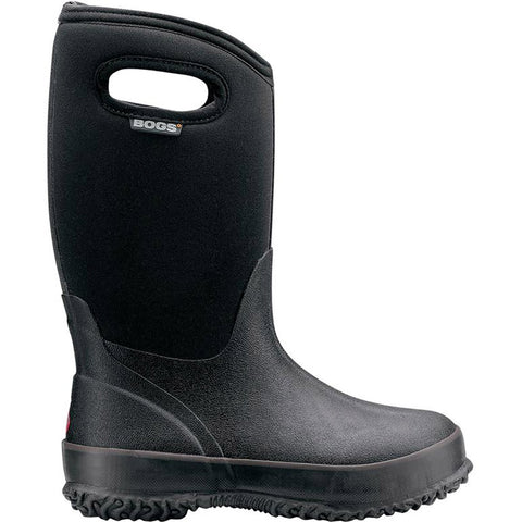 Kids Classic Black with Handles-Bogs-Black-1-Uncle Dan's, Rock/Creek, and Gearhead Outfitters