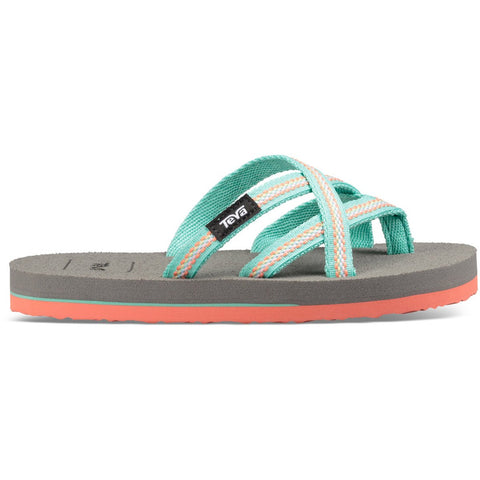 Teva Kids' Olowahu-1019539C_Lindi Sea Glass/Coral