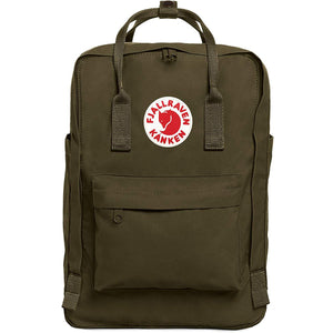 "Kanken 15""-Fjallraven-Green-Uncle Dan's, Rock/Creek, and Gearhead Outfitters"
