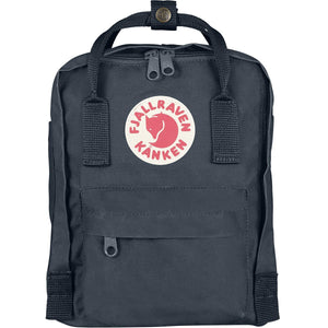 Kanken Mini Backpack-Fjallraven-Graphite-Uncle Dan's, Rock/Creek, and Gearhead Outfitters