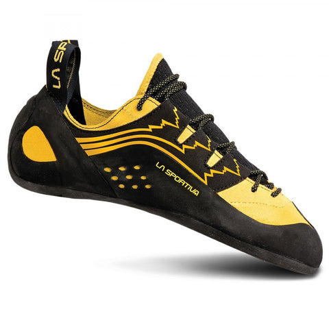 Katana Lace Climbing Shoe-La Sportiva-Yellow-39.5-Uncle Dan's, Rock/Creek, and Gearhead Outfitters